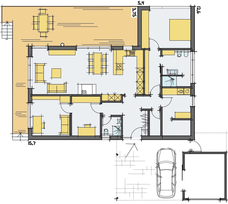 haus veltin barrierefrei f r junggebliebene. Black Bedroom Furniture Sets. Home Design Ideas