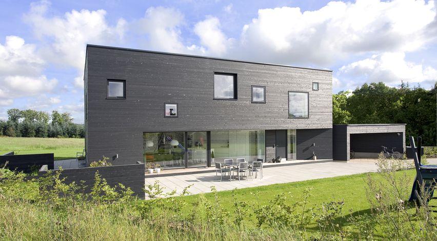 Moderner Hausbau haus funkis 2 skandinavische moderne
