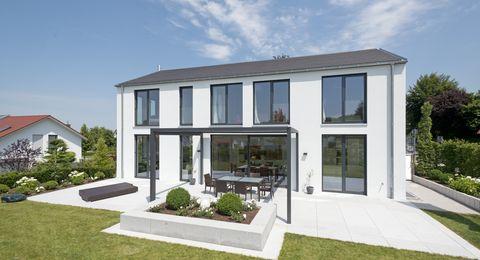 Haus Thomann Kubismus Mit Satteldach