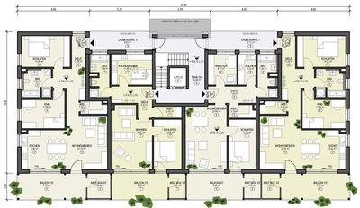 mehrfamilienhaus pfingen zw lf mal wohnen unter einem dach. Black Bedroom Furniture Sets. Home Design Ideas