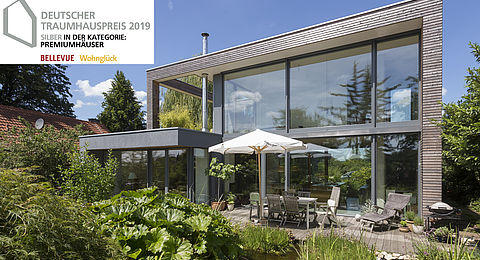 Deutscher Traumhauspreis 2019 bekam das Architektenhaus Peters